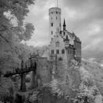 Infrarotaufnahme von Schloss Lichtenstein